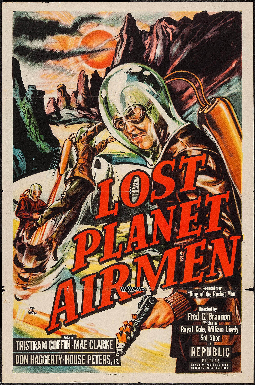 Lost Planet Airmen (Republic, 1951). One Sheet (27\
