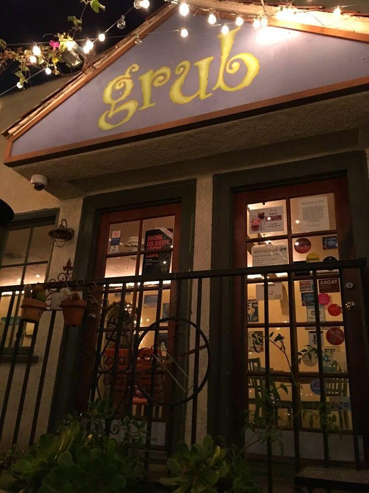Grub Kooky Decor Hollywood Restaurant Patio Twinkle