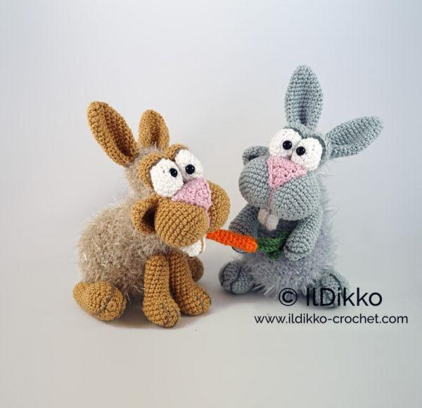 Bunny And Clyde Amigurumi Pattern Crochet La Ferme Häkeln