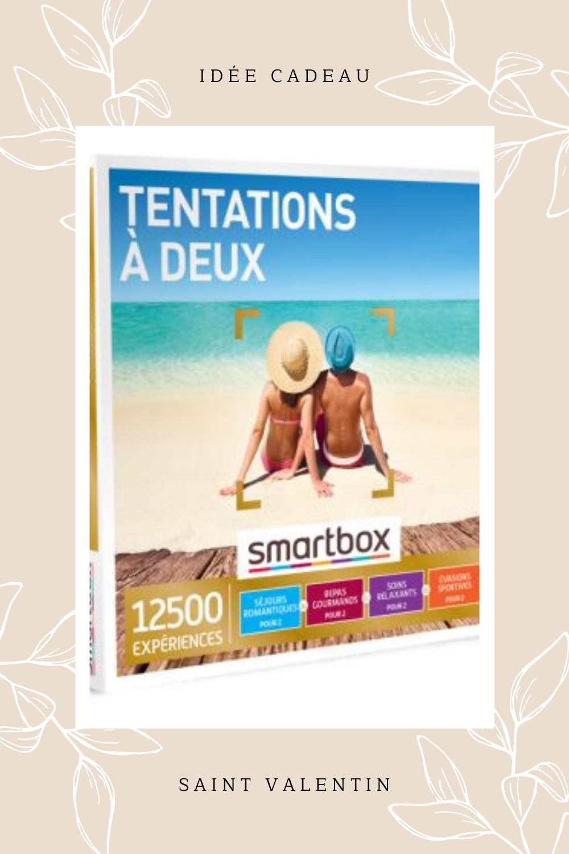 Coffret Cadeau Smartbox Tentation A Deux En 2021 Idee Cadeau Saint Valentin Saint Valentin Cadeau