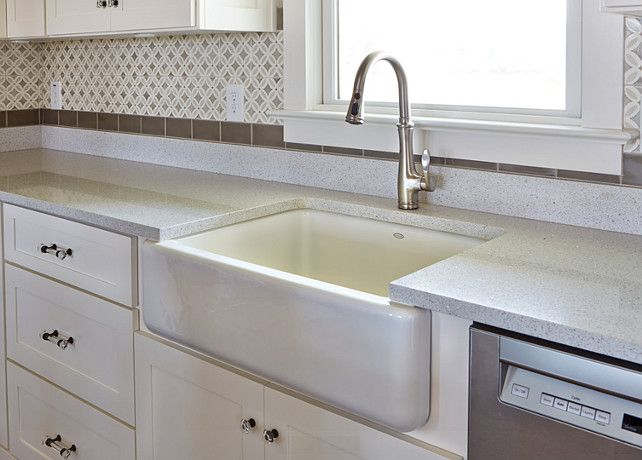Quartz kitchen countertop quartz countertop kitchen with for Silestone sink