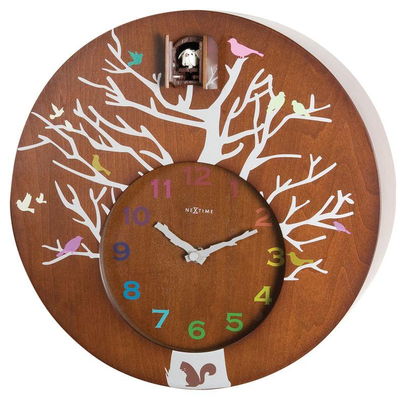 Cuckoo Round Clock Modern Cuckoo Clocks Wall Clock Cuckoo Contemporary Wall Clock