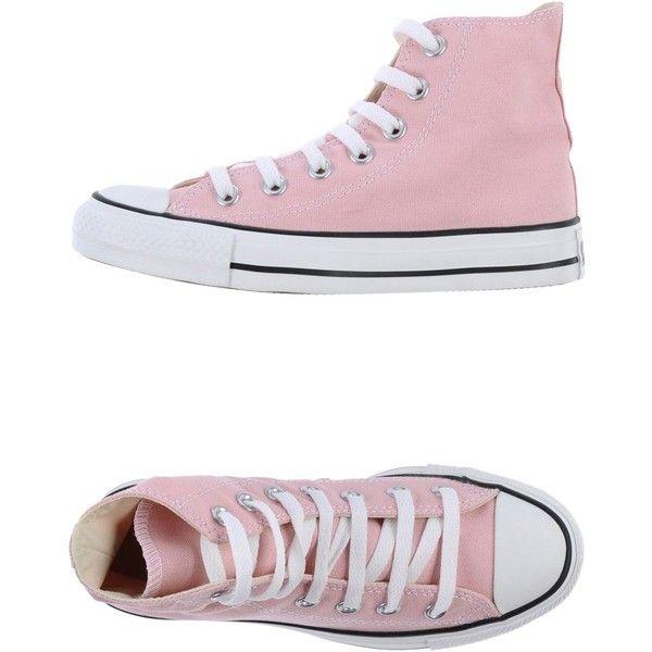 Pink sneakers, Pink high tops