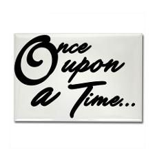 Once Upon a Time... Rectangle Magnet for