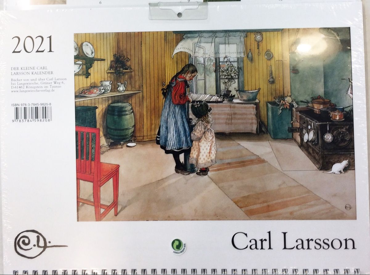 Carl Larsson 2021 Calendars Now In Stock In 2020 Nordic Royal Copenhagen Carl Larsson