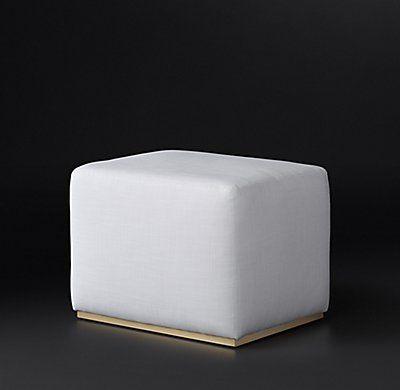 Rex Fabric Ottoman | Modern Design ... Furniture | Pinterest ...