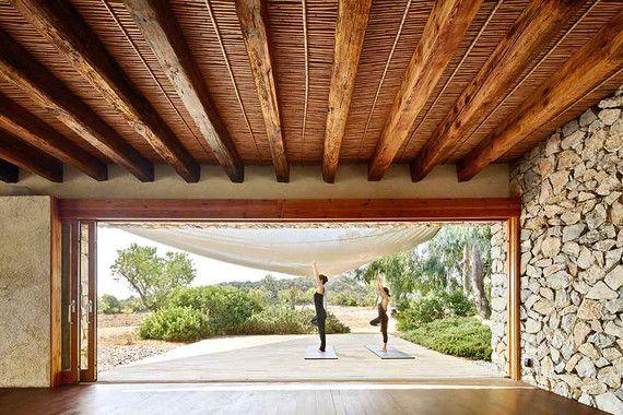 Das kleine Landhotel Son Gener an der Ostküste von Mallorca wurde ...