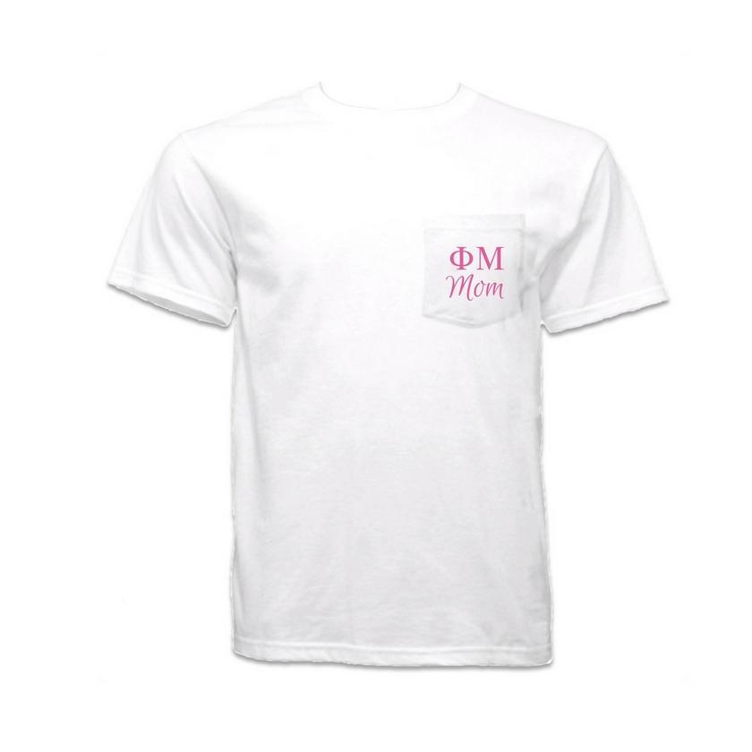 e61c051ec Phi Mu Mom T-Shirt with Pocket in 2019   Products