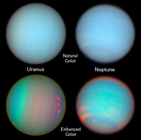 Uranus And Neptune Exploration Could Be The Next Esa Milestone Technology Org Outer Planets Uranus Planets