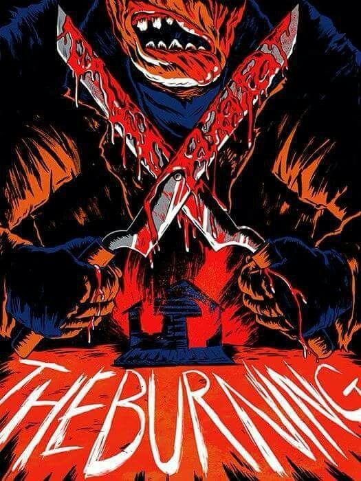 the burning horror movie horror fan poster compilation