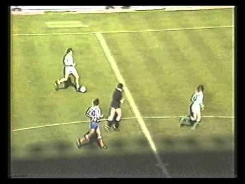 1983/84.- Real Betis 1 Vs Atlético Madrid 0 (Liga - Jornada 27)