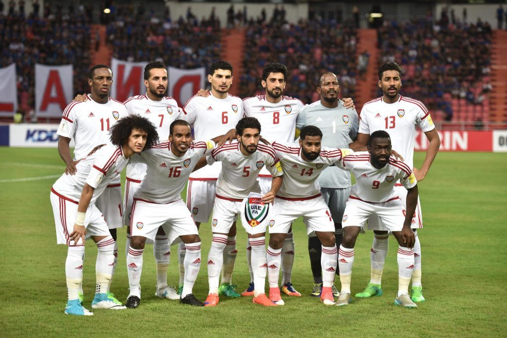 Danh sách chính thức đội tuyển UAE