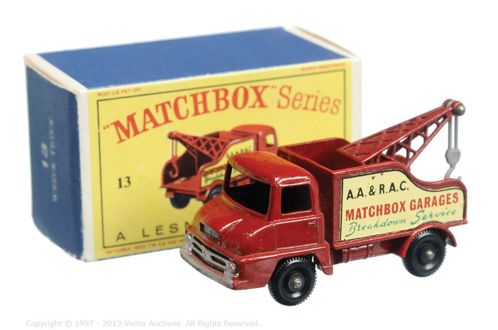 Matchbox Regular Wheels No.13C Thames Trader Wreck Truck | 1964 ...