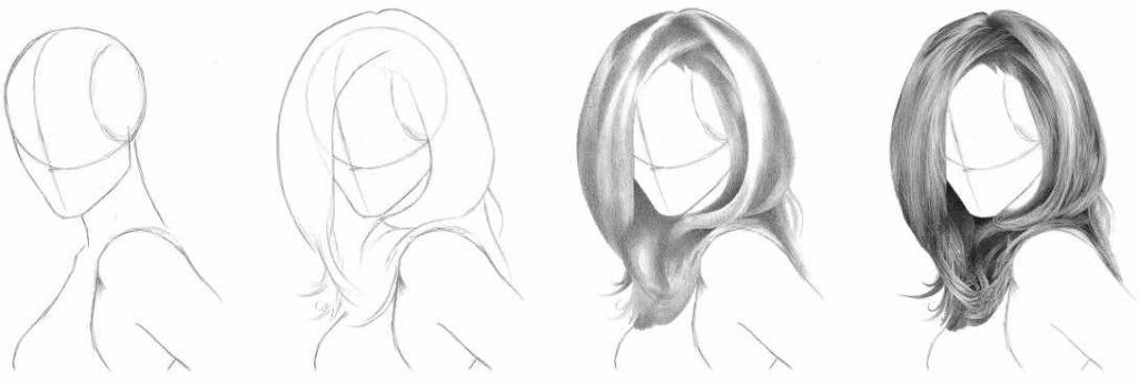 How To Draw Realistic Hair Easiest Way Realistic Drawings Realistic Hair Drawing How To Draw Hair