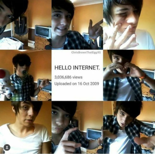 Oh, Dan. Three million views... If Fetus Dan could see you now... Phil watched you grow up... And oh, how you've grown.