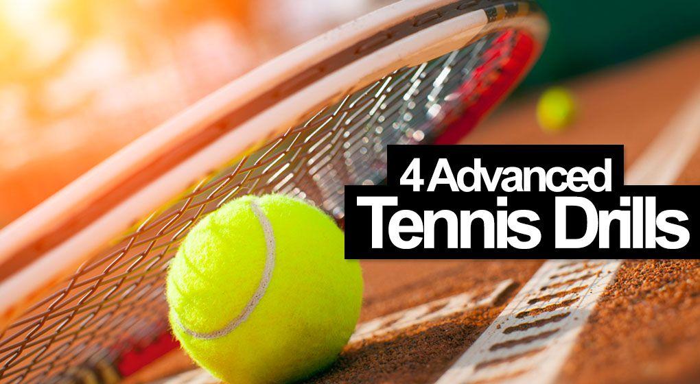 7 Tennis Drills For Advanced Players Best Tennis Drills Tennis Drills Tennis Tennis Camp