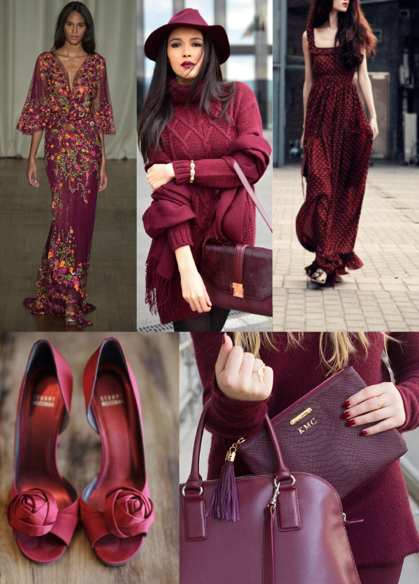 Marsala Trend, Pantone of the year 2015 #enviaflores