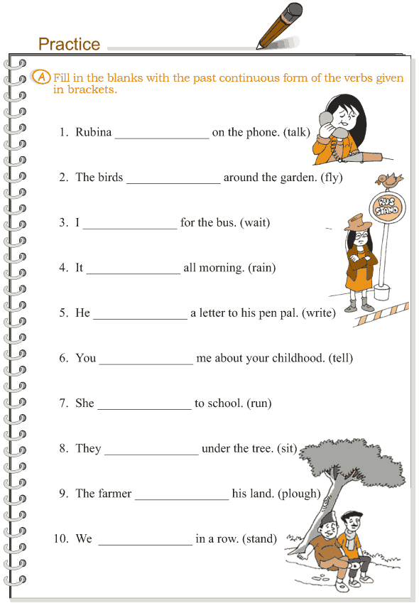Grade 3 Grammar Lesson 10 Verbs - the past continuous tense ...