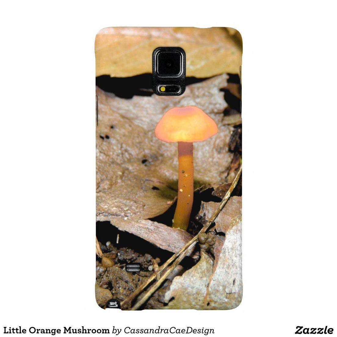 Little Orange Mushroom Samsung Galaxy Note 4 Case