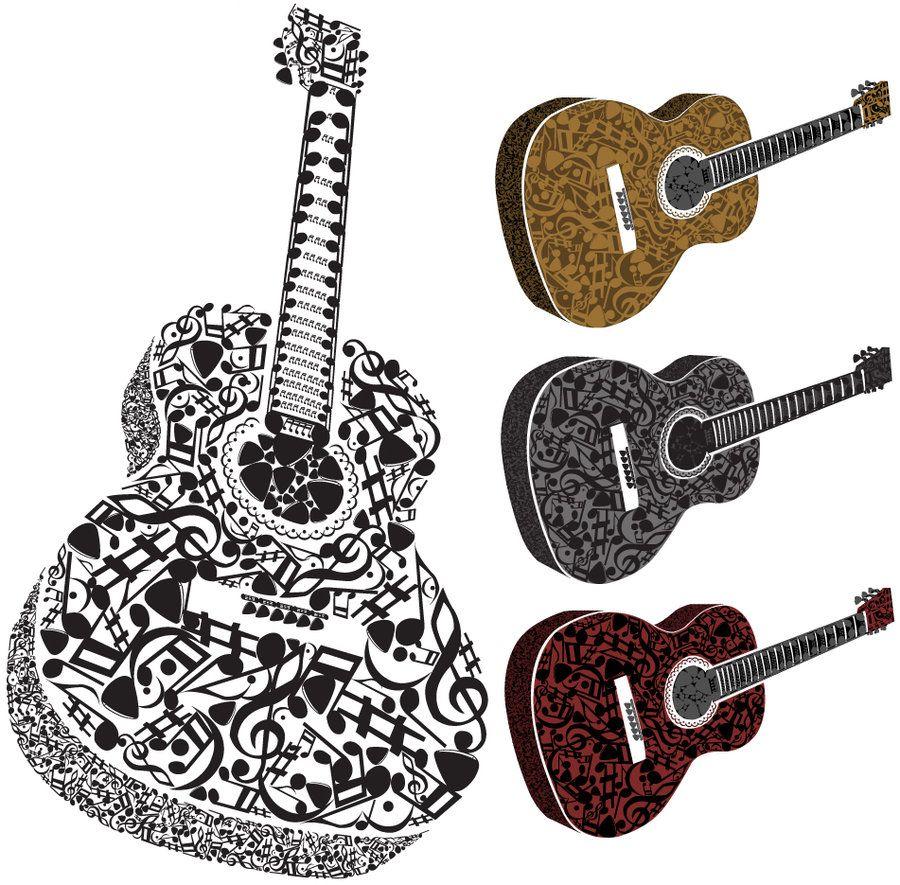 Guitar Music Symbols Im Loving This Music Symbols Pinterest