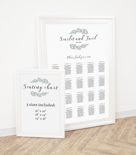 Wedding Seating Chart Template Find Your Seat Sign by Papersizzle - seating chart templates