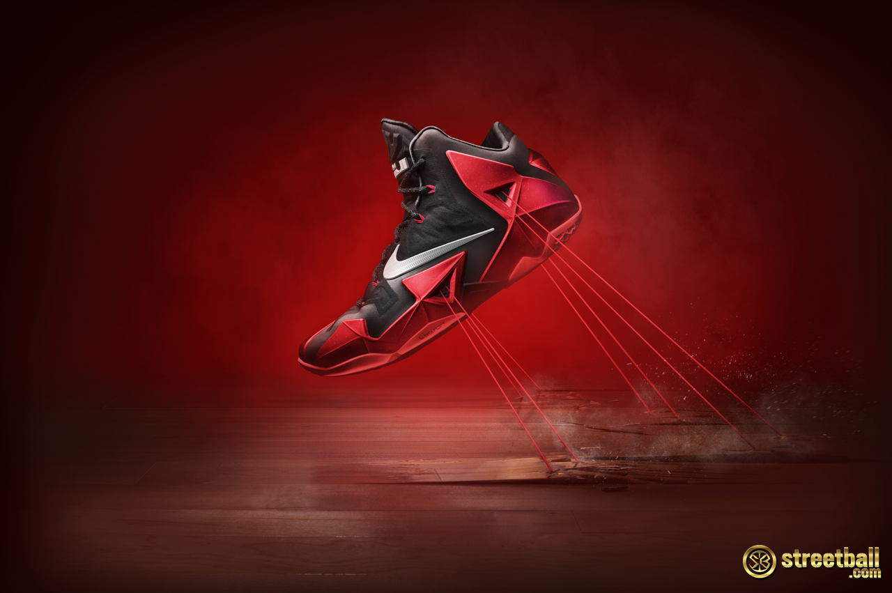the newest lebron shoes lebron 11 all red