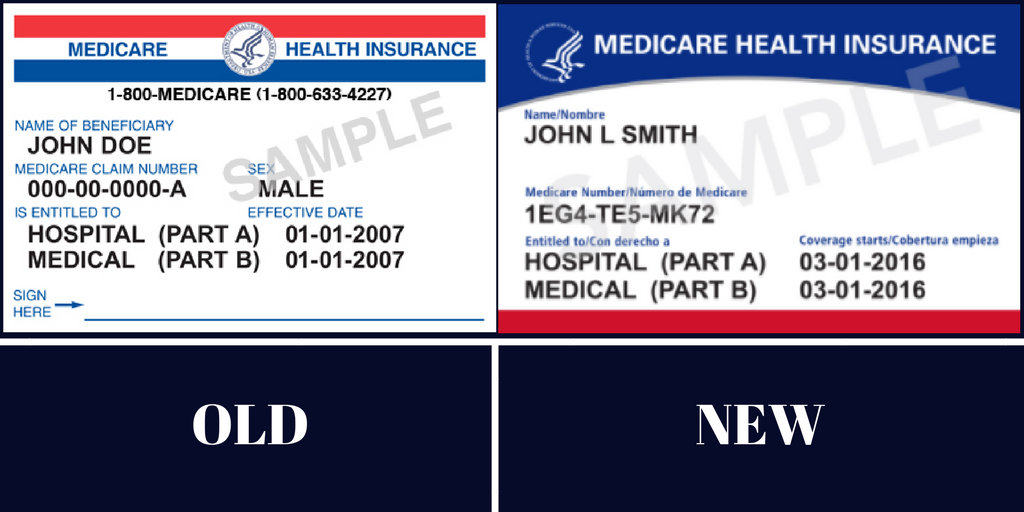 New Medicare Cards Medicare Health Plan Medicare Supplement