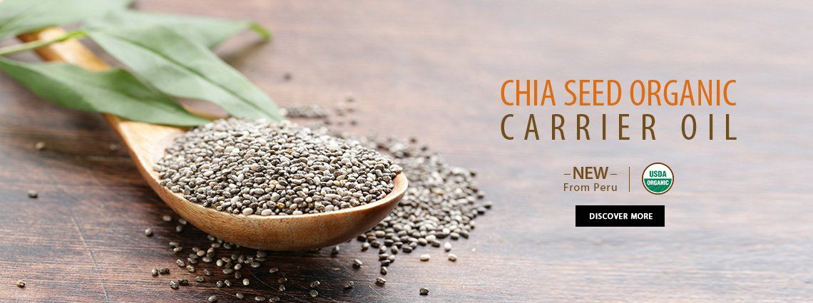 Chia Seed Carrier Oil Carrier Oils Essential Oil Suppliers Chia Seed Oil