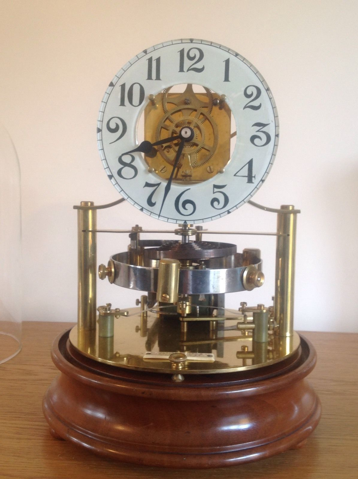 Murday Reason Electric Clock Utilising Hipp Toggle Switch And Solenoid To Provide Impulse Kick The Large Horizontally Electric Clock Antique Clocks Desk Clock