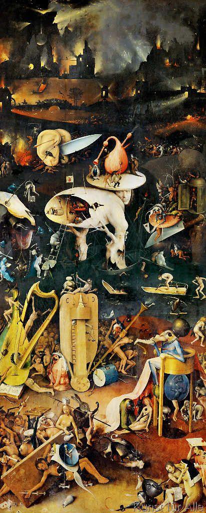 Hieronymus Bosch Bosch Garten Der Luste Rechter Flugel 27 0 X