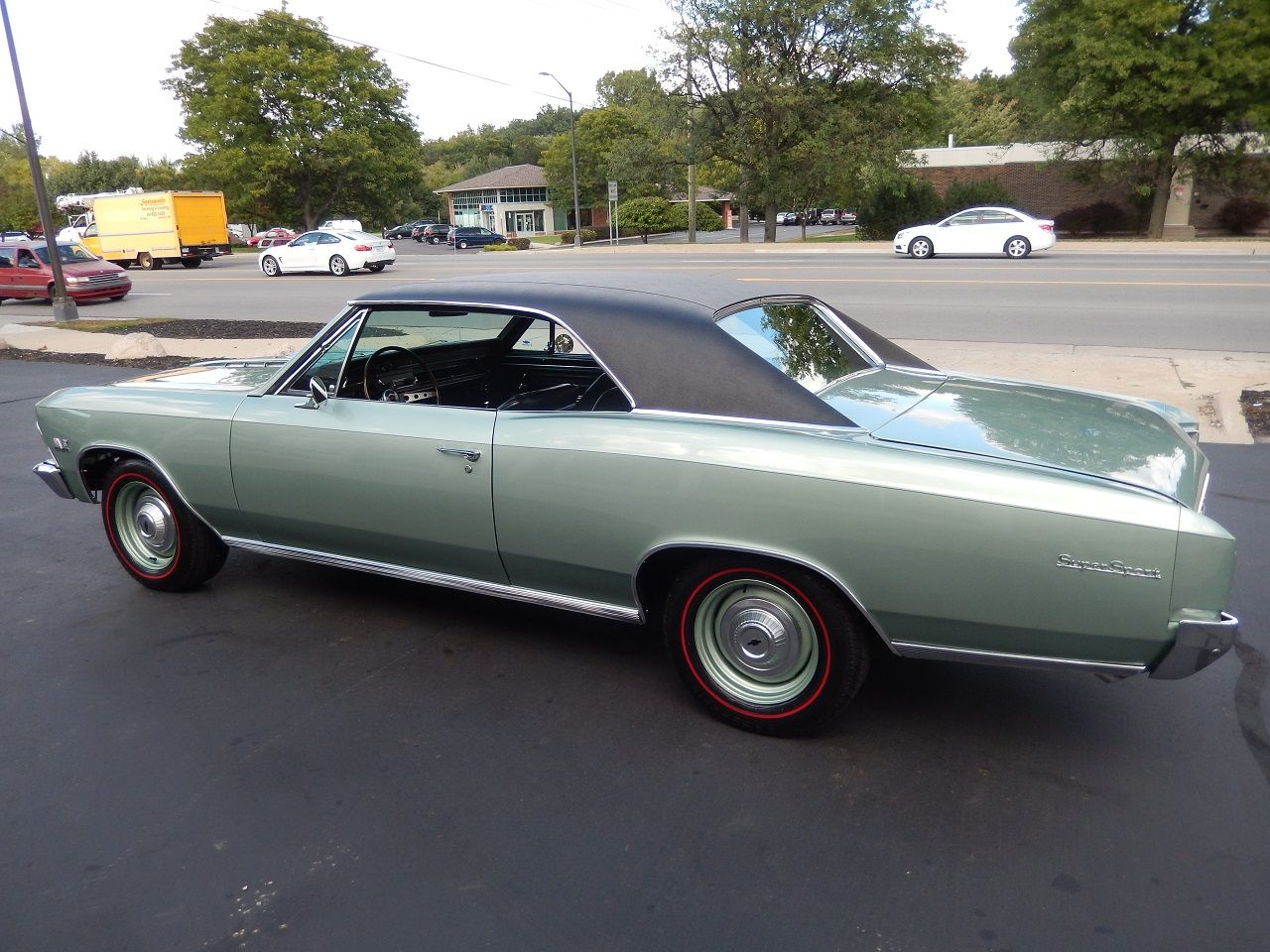 1966 Chevrolet Chevelle Ss 396 In Willow Green 1960s