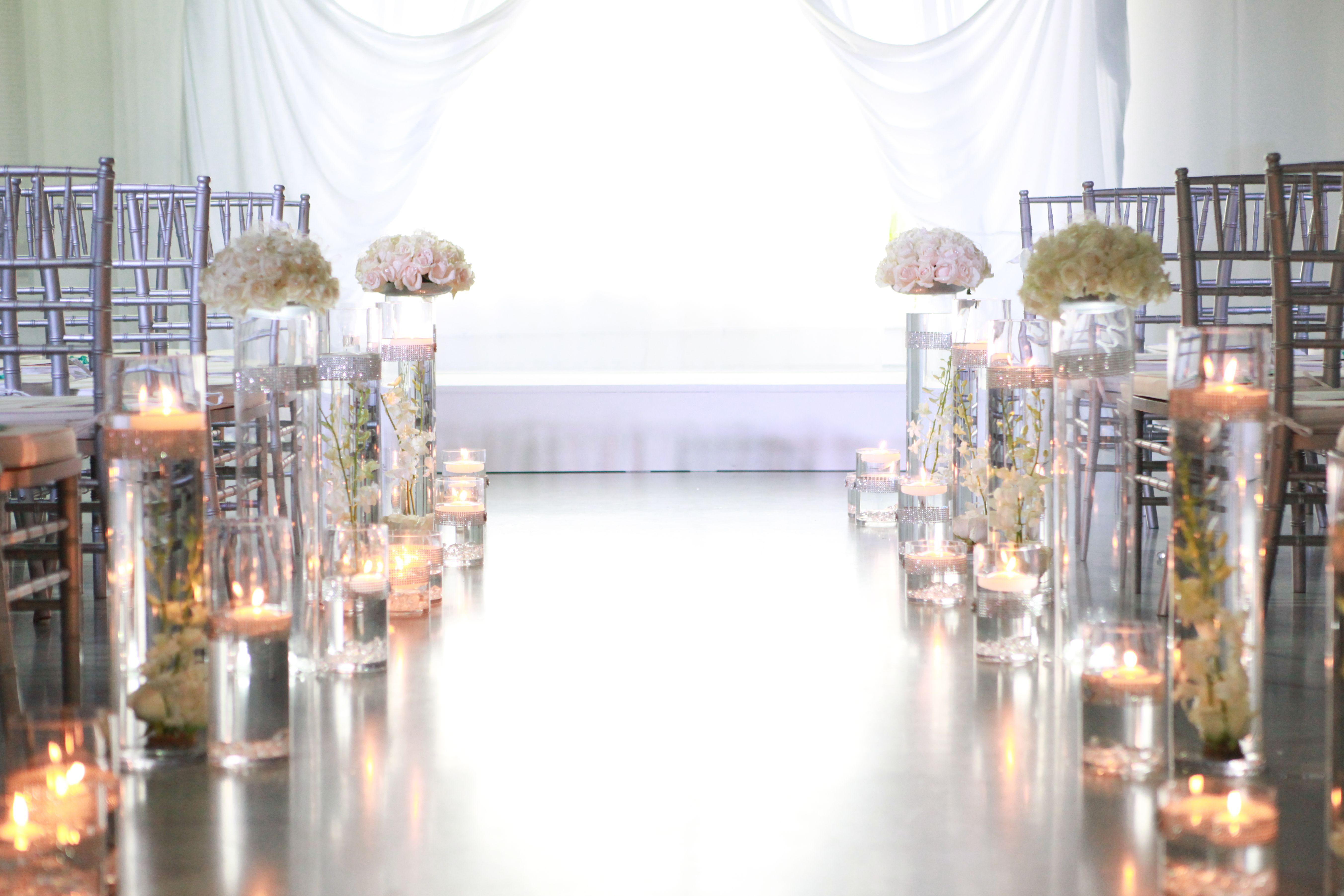 Ipw Reception Corporate Event Photographyorlando Wedding: Beautifully Lit Aisle #ceremony #weddings