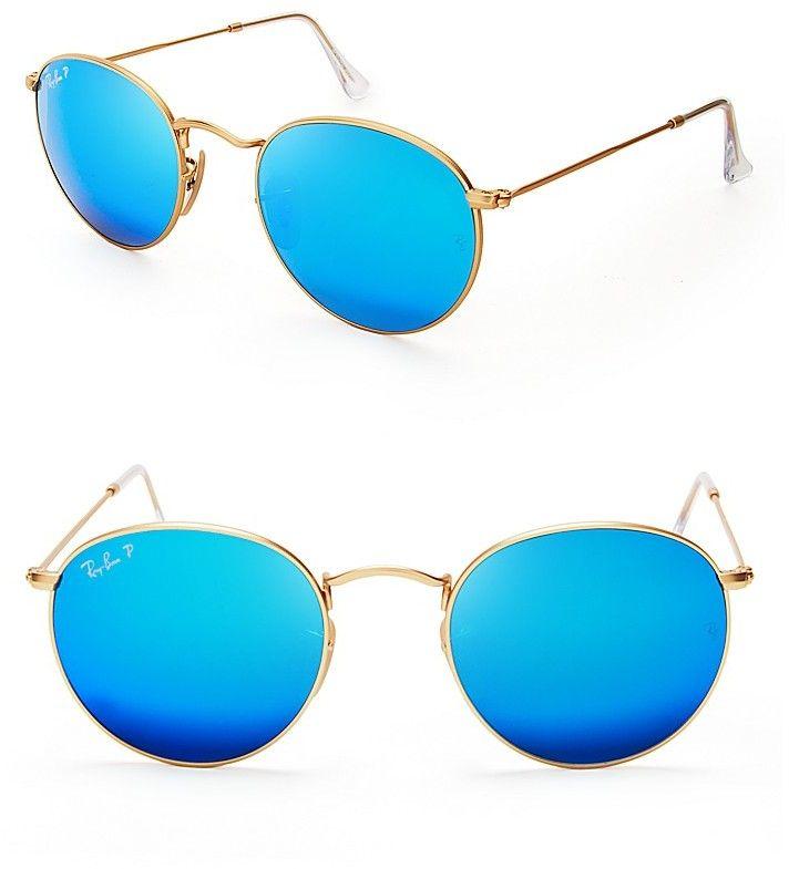 ray ban mirrored polarized sunglasses  ray ban round mirrored polarized sunglasses