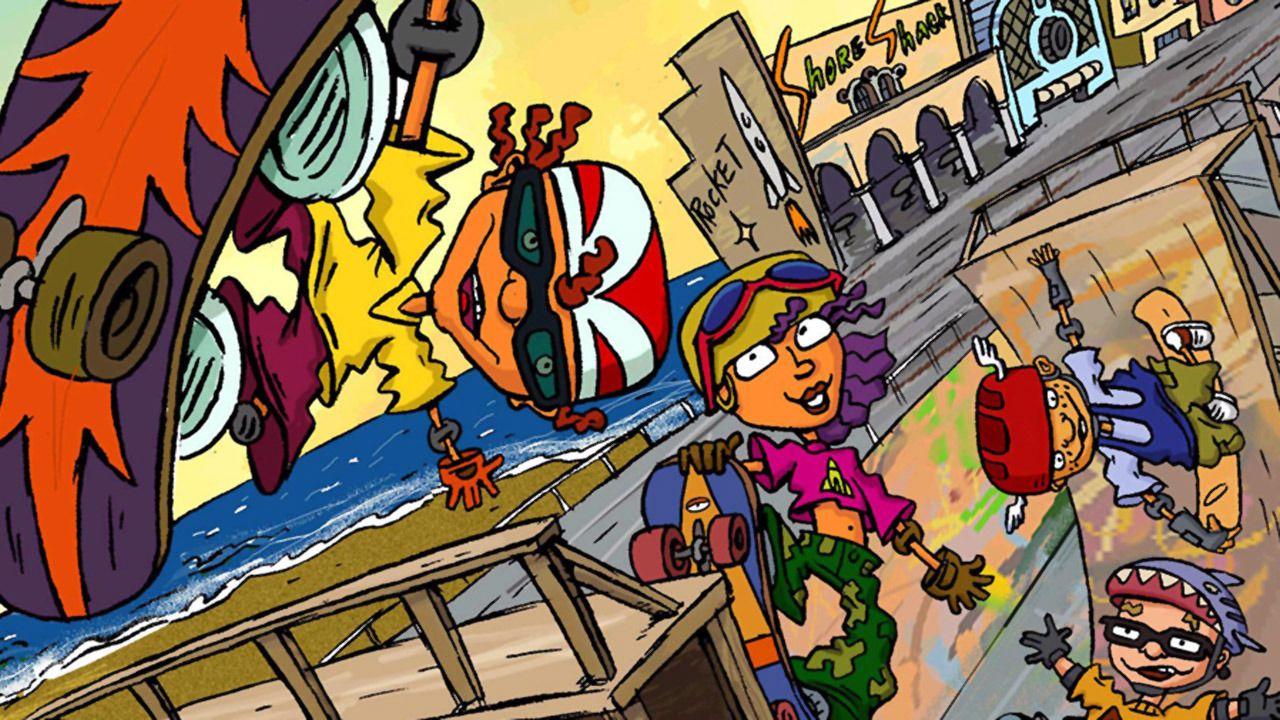 Otto Rocket Skateboard Powered Skateboard Rocket Power Skateboard