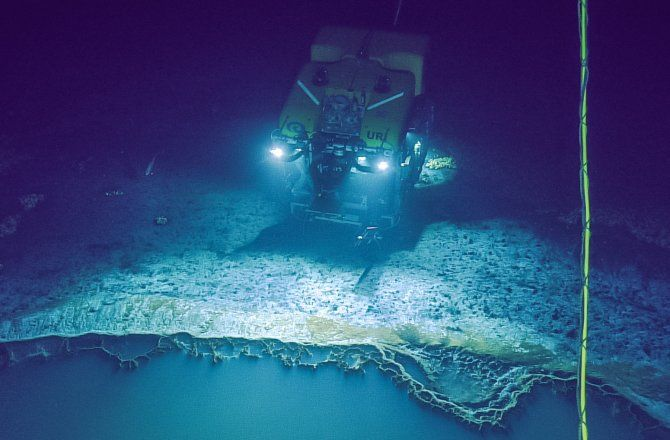 Shocking Discovery In The Gulf Of Mexico An Underwater Lake That Can Kill You Underwater Lake Lake Gulf Of Mexico