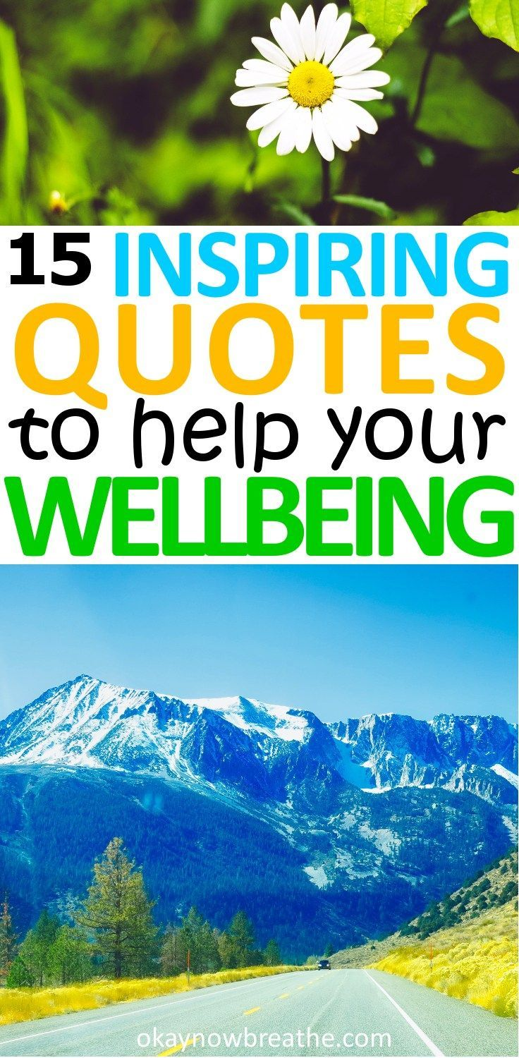 15 Inspiring Quotes to Help Improve Your Mental Health | Okay Now Breathe