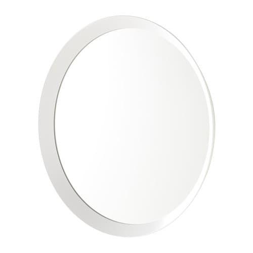 Langesund Miroir Blanc In 2019 Ikea Mirror Mirror