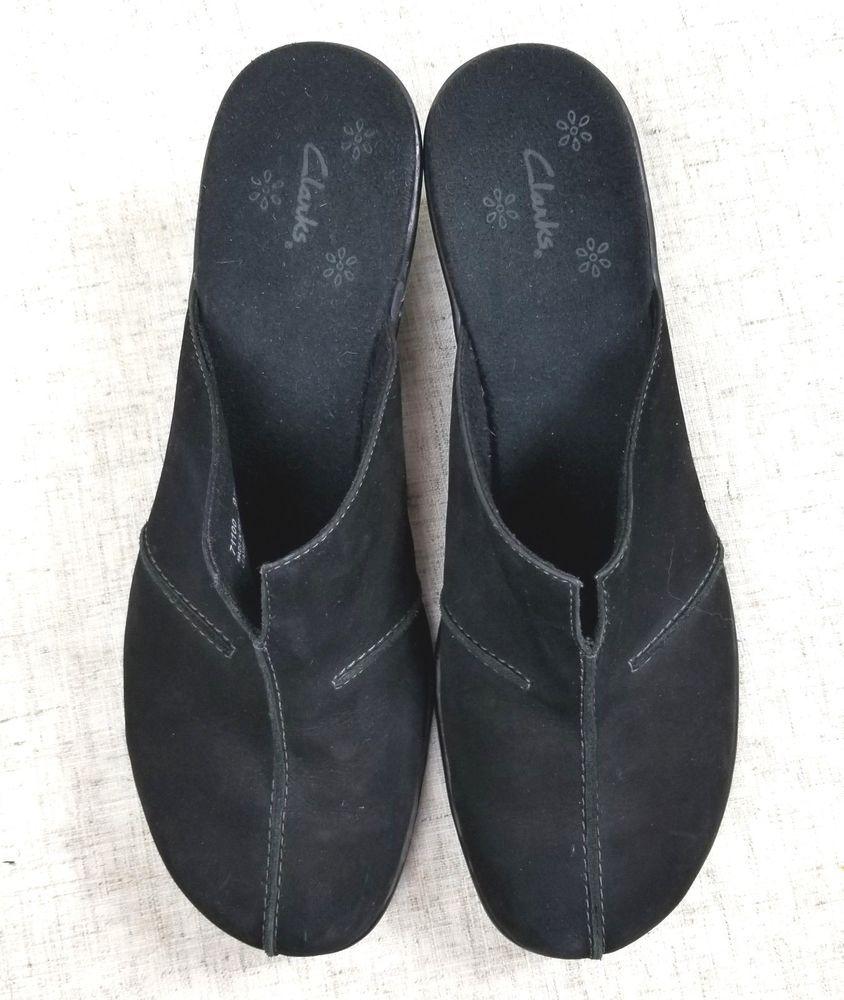 clarks ladies mule slippers