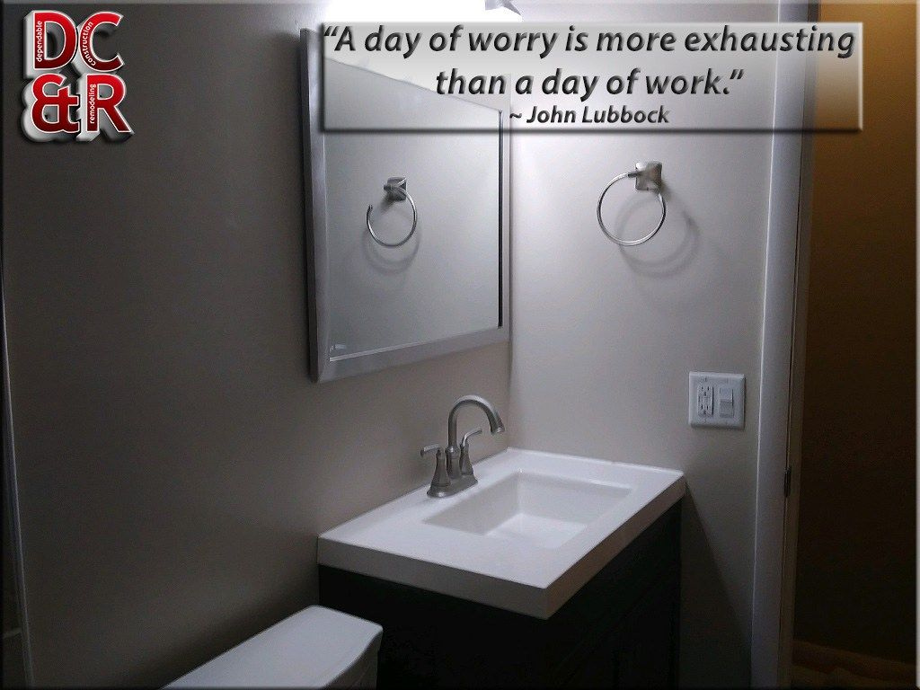 A Day Of Worry Is More Exhausting Than A Day Of Work John