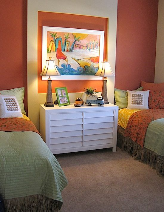 Teen Beach Bedroom Ideas Part - 42: Model Home Tour: Teen Beach Theme Bedroom