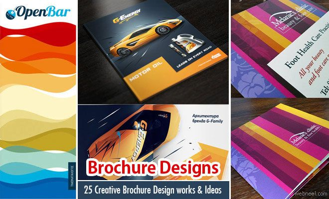 50 Creative Corporate Brochure Design ideas for your Inspiration - advertisement brochure