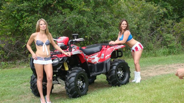 hot girls on atv
