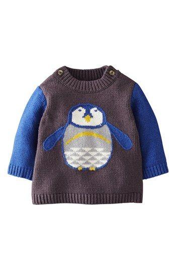 Mini Boden Sweater (Baby Boys) | Nordstrom