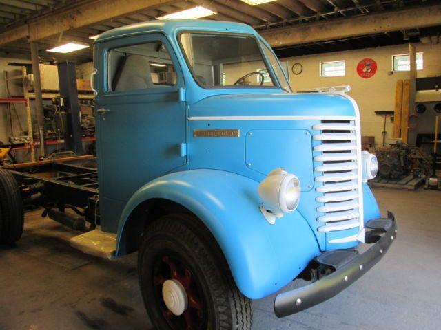 1947 Diamond T COE Cabover Truck Big Block Cadillac