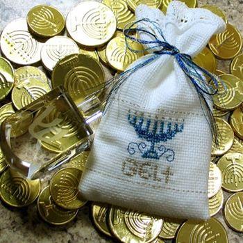 DMC Hanukkah Gelt Bags