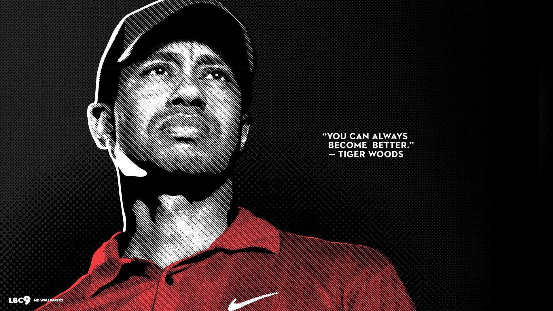 Tiger woods golf quote desktop wallpaper quotes - Tiger woods desktop wallpaper ...