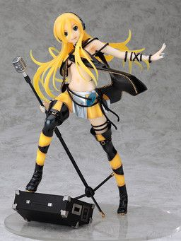 Vocaloid Lily PVC Figure From Animove Scale