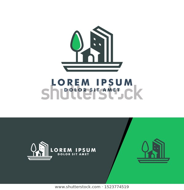finance graphic Real Estate Logo House Home Icon Stock Vector Royalty Free 1523774519
