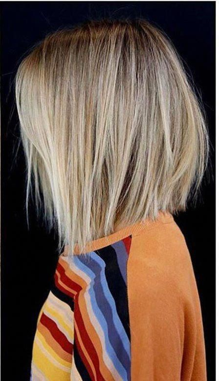25 Short Hairstyles for Straight Hair #shorthair #bobhairstylesforfinehair in 2020 | Shoulder ...