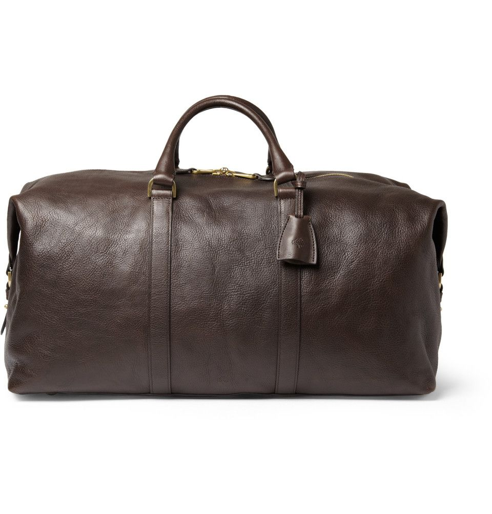 885c68317dbb Mulberry Clipper Leather Holdall Bag